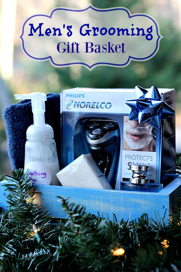 Christmas Gift Basket Ideas For Men.Men S Grooming Gift Basket Ideas Mom Unleashed