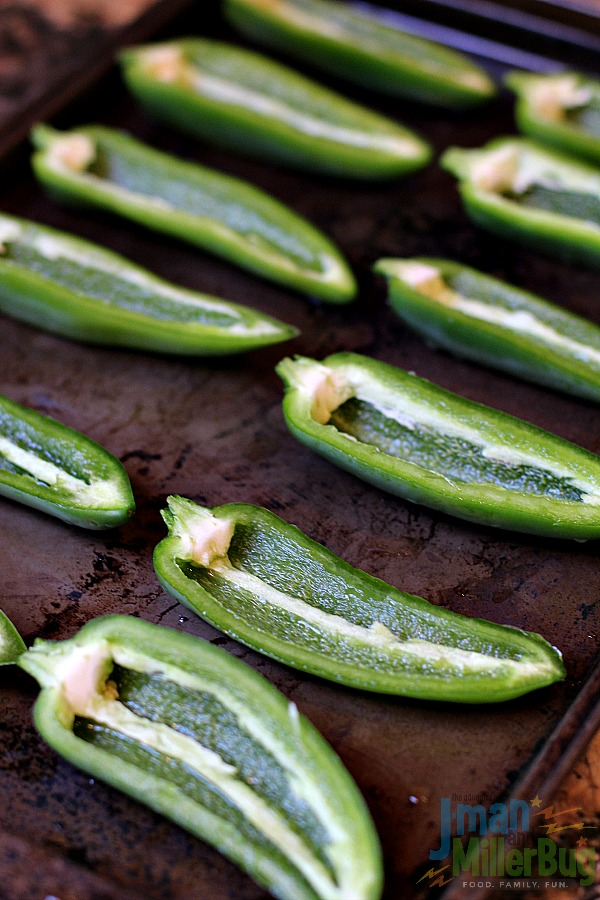 #GameForBasketball #ad Spicy Jalapeno Poppers Process 4