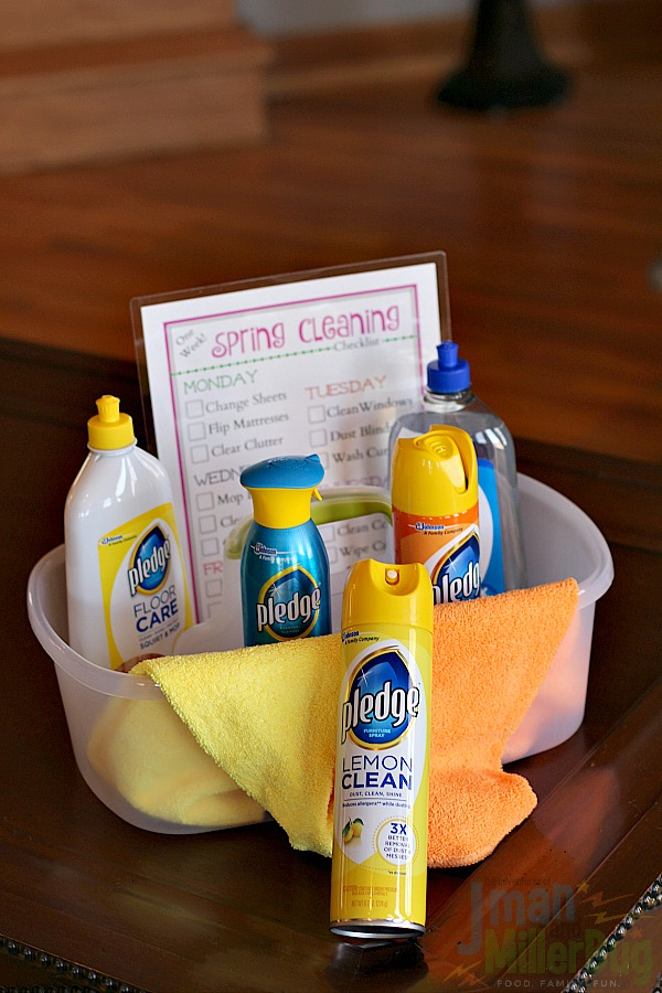 #MyPledgeCastle #ad Cleaning Quickly 12