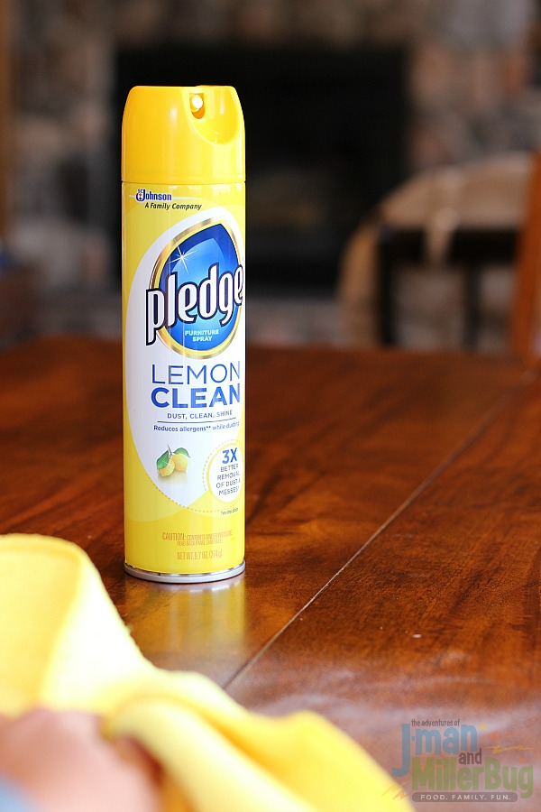 #MyPledgeCastle #ad Spring Cleaning Checklist Process 1