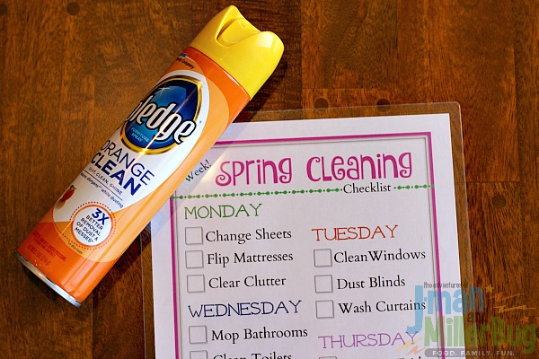 #MyPledgeCastle #ad Spring Cleaning Checklist Process 8