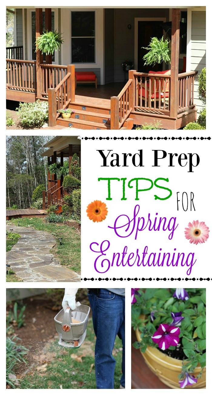 #LoveYourLawn #ad Yard Prep Tips for Spring Entertaining