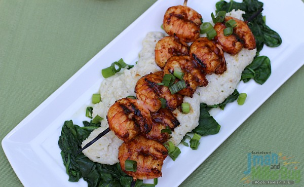 BBQ Shrimp with Blue Cheese Grits Final 2
