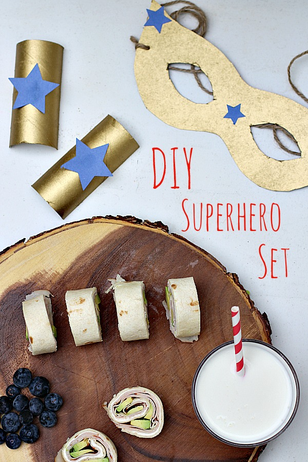 DIY Superhero Set 1