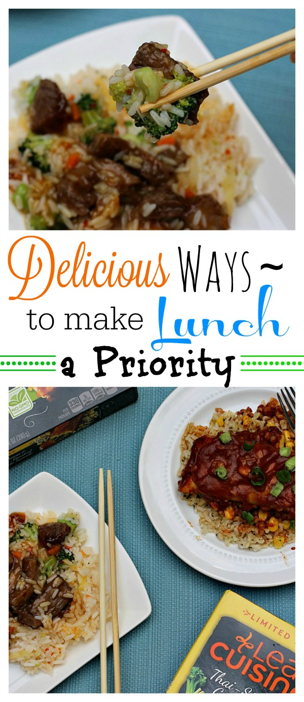 #FeedYourFoodie #ad Delicious Ways to Make Lunch a Priority