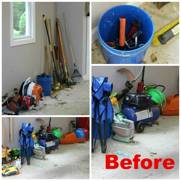 #GarageCleanUp #ad Before Cleanup