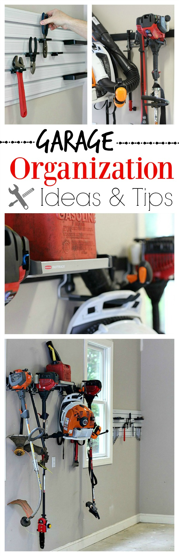 #GarageCleanUp #ad Garage Organizaiton Ideas and Tips