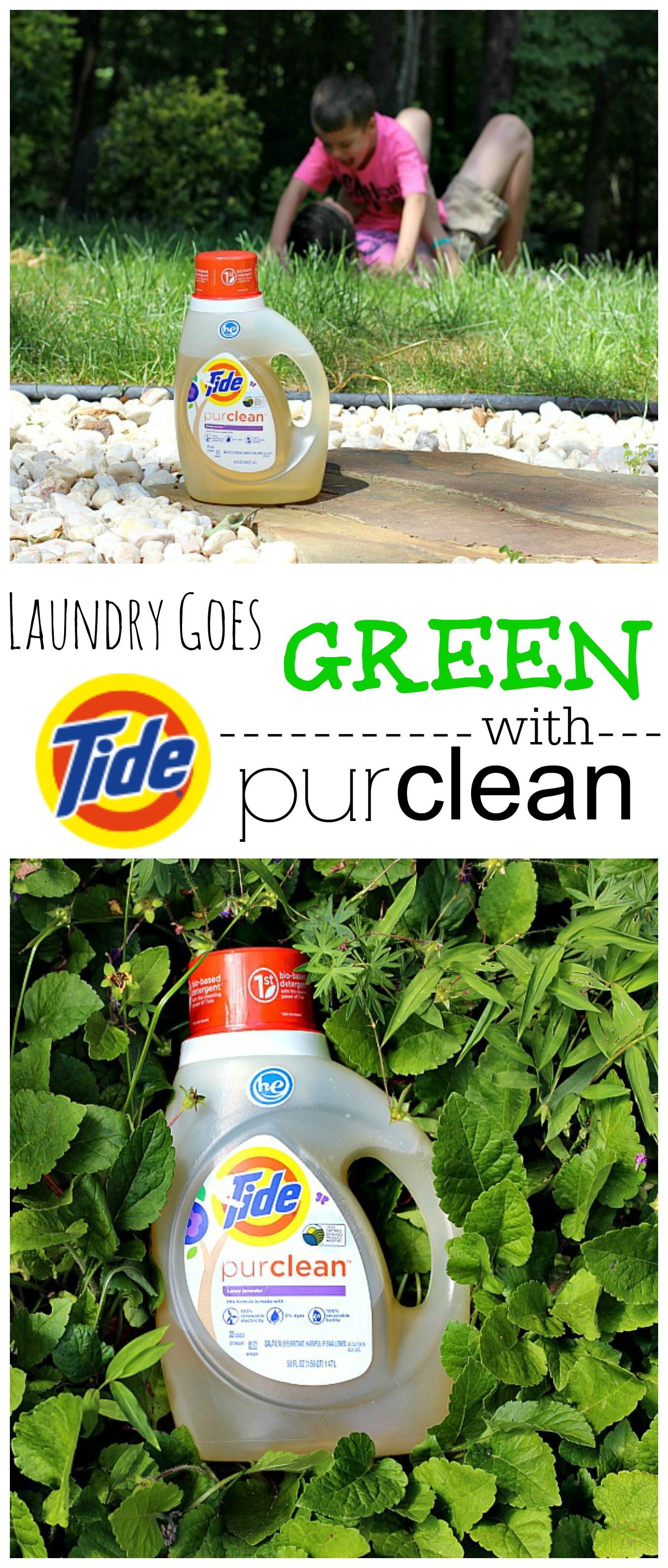 Laundry Goes Green with Tide Purclean