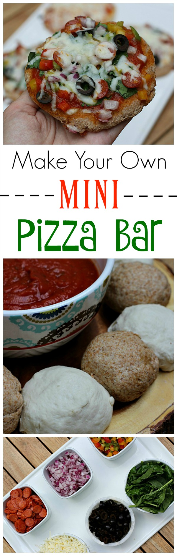 #ShareYourMiracles #ad DIY Mini Pizza Bar