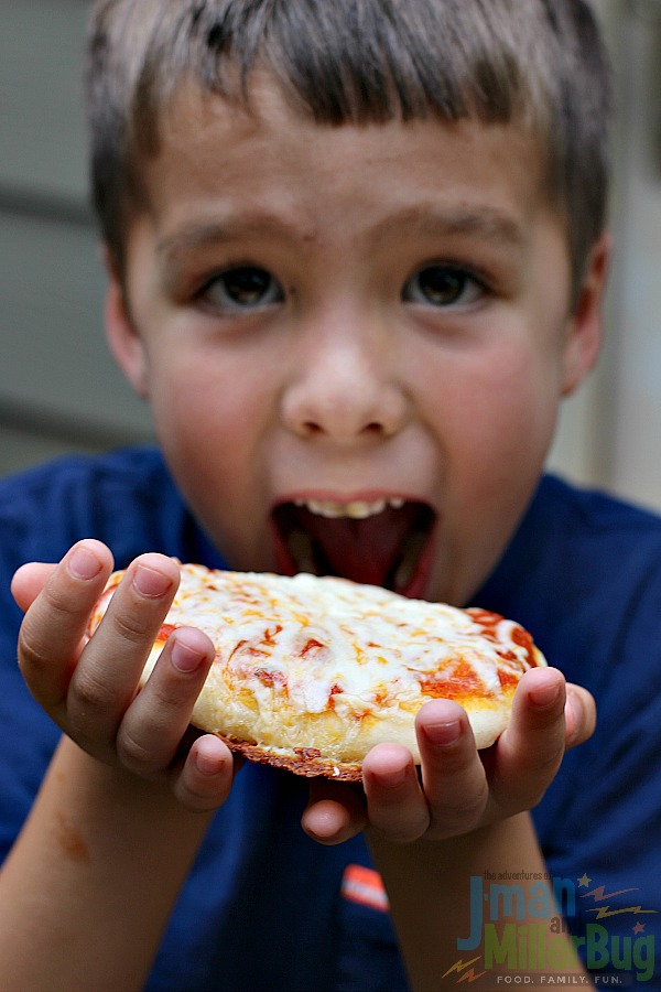 #ShareYourMiracles #ad DIY Mini Pizzas Preapared