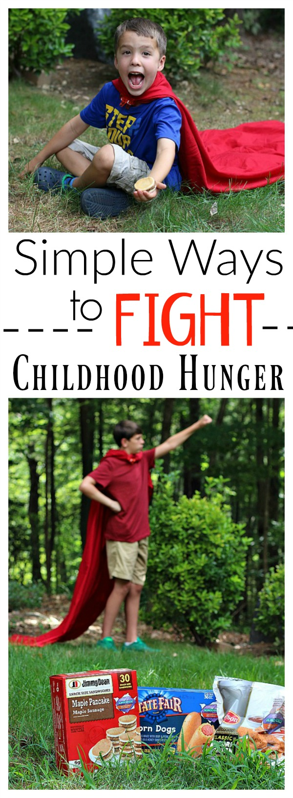 Simple Ways to Fight Childhood Hunger