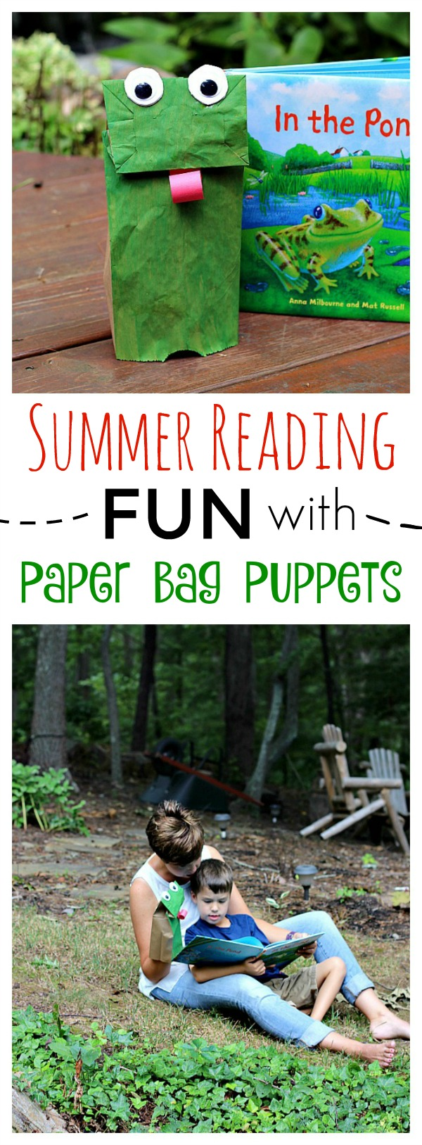 Summer Reading Fun with Paper Bag Puppets
