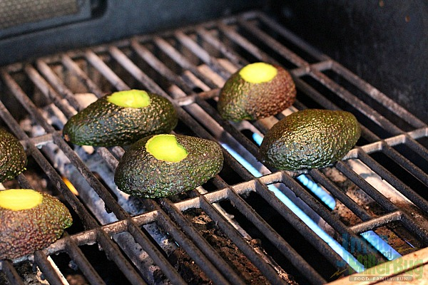 #AuthenticSalsaStyle #ad Grilled Steak Stuffed Avocados Process 11