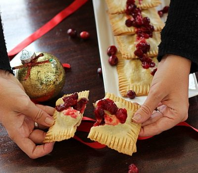 Sausage & Cranberry Turnovers
