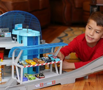 Holiday Racing Fun with Cars 3 Toys