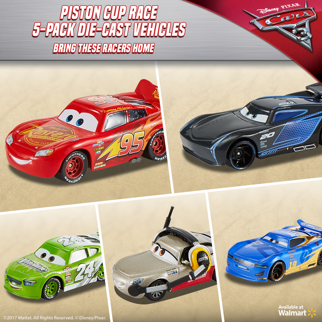 Holiday Racing Fun with Cars 3 Toys - Mom Unleashed
