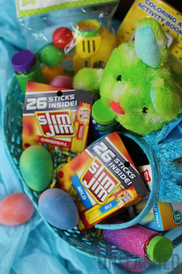 Candy free easter basket ideas mom unleashed once i had my candy free easter basket made for my little guy i quickly hopped over to the slim jim website and was able to create a fun virtual easter negle Gallery