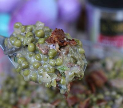Creamy Peas with Bacon