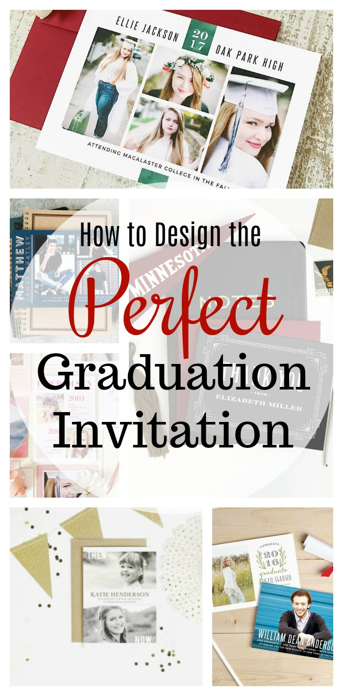 how to design the perfect graduation invitation mom unleashed