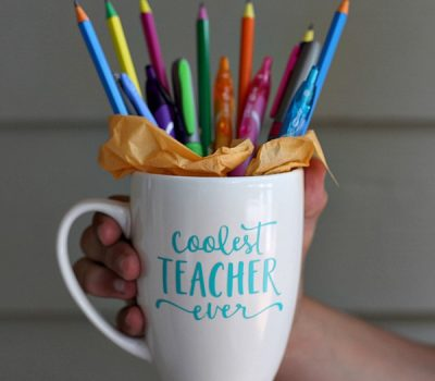 Back-to-School Teacher Mug Tutorial & Other Easy Ways to Give Back