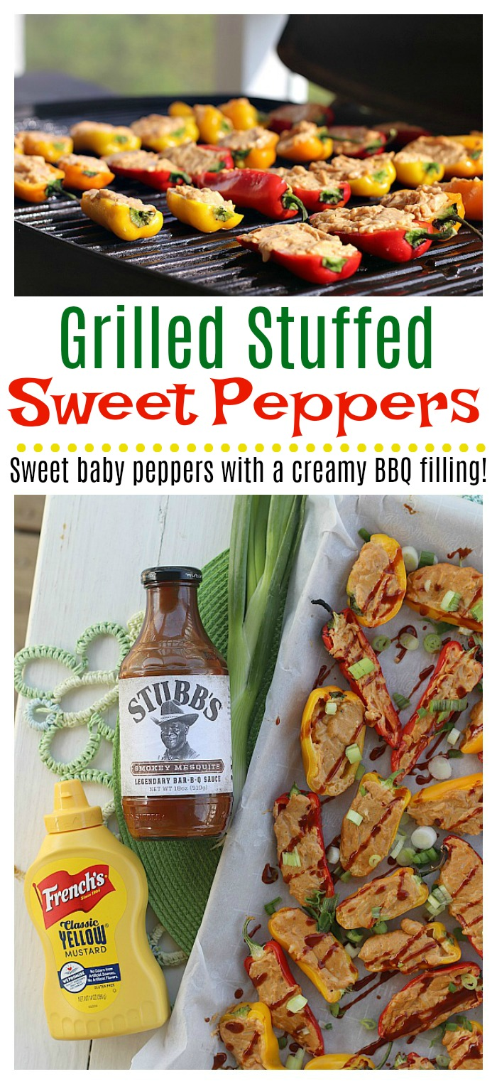 Grilled Stuffed Sweet Peppers